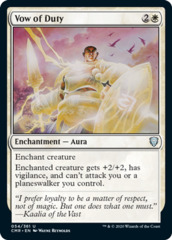 Vow of Duty - Foil