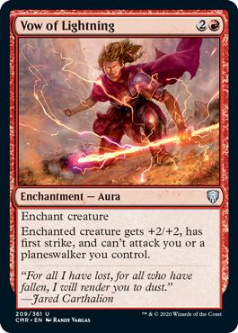 Vow of Lightning - Foil
