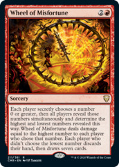 Wheel of Misfortune - Foil