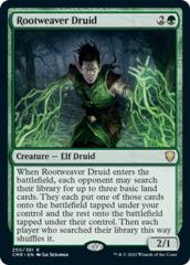 Rootweaver Druid - Foil