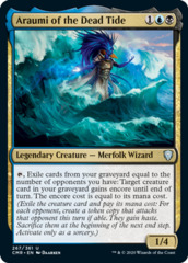 Araumi of the Dead Tide - Foil