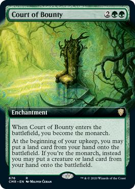 Court of Bounty - Foil - Extended Art