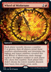 Wheel of Misfortune - Foil - Extended Art