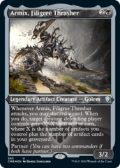 Armix, Filigree Thrasher - Foil Etched