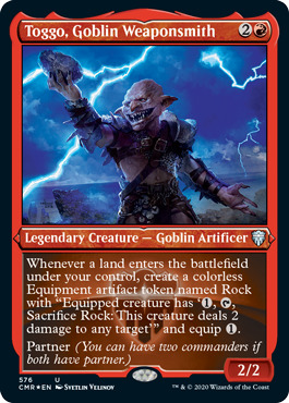 Toggo, Goblin Weaponsmith - Foil Etched