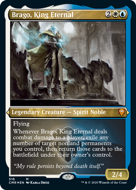 Brago, King Eternal - Foil Etched