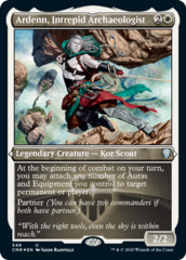 Ardenn, Intrepid Archaeologist - Foil Etched