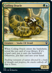 Coiling Oracle - Theme Deck Exclusive