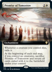 Promise of Tomorrow - Foil - Extended Art
