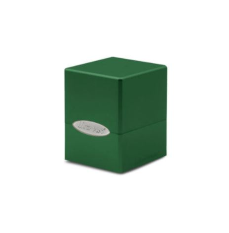 Deck Box Satin Cube Forest Green - 15588