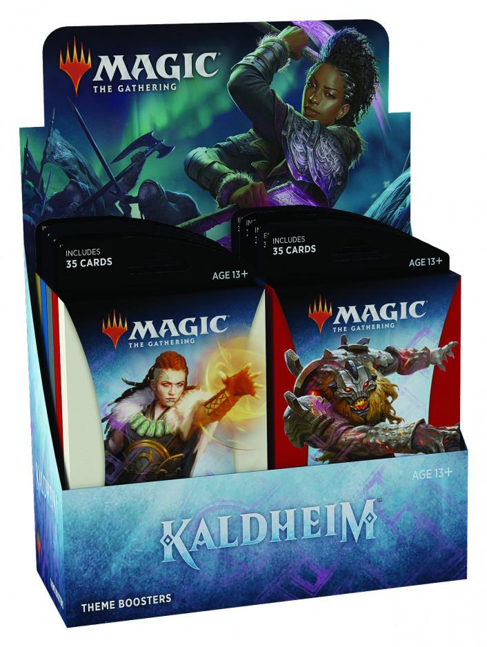 Kaldheim Theme Booster Display
