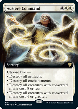 Austere Command - Extended Art