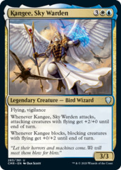 Kangee, Sky Warden - Foil