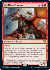 Hellkite Courser - Foil