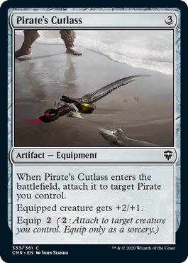 Pirates Cutlass