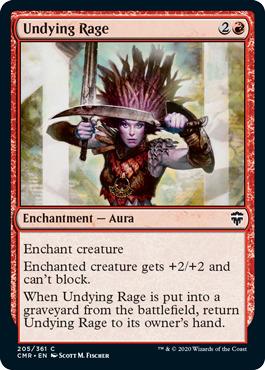 Undying Rage - Foil