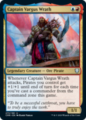 Captain Vargus Wrath - Foil