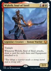 Wyleth, Soul of Steel - Theme Deck Exclusive - Foil