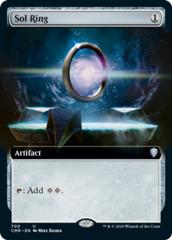 Sol Ring - Foil - Extended Art