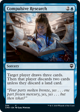 Compulsive Research - Theme Deck Exclusive