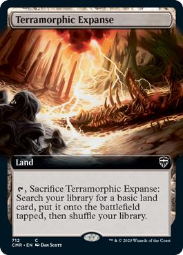 Terramorphic Expanse - Foil - Extended Art