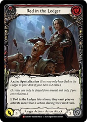 Red in the Ledger - Rainbow Foil - Unlimited Edition