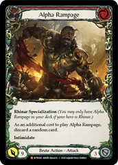 Alpha Rampage - Rainbow Foil - Unlimited Edition