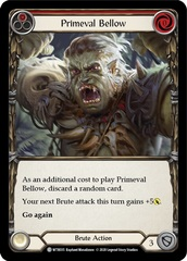 Primeval Bellow (Red) - Rainbow Foil - Unlimited Edition