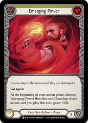 Emerging Power (Yellow) - Rainbow Foil - Unlimited Edition
