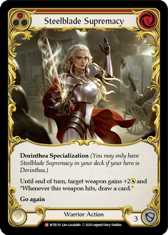 Steelblade Supremacy - Rainbow Foil - Unlimited Edition