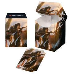 Ultra Pro - Commander Legends Liesa, Shroud of Dusk PRO 100+ Deck Box and 100ct sleeves Combo