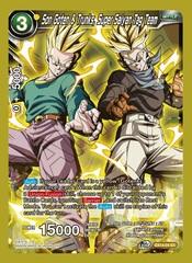 Son Goten & Trunks, Super Saiyan Tag Team - EX14-04 - EX - Foil