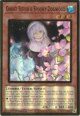 Ghost Sister & Spooky Dogwood (Alternate Art) - MAGO-EN013 - Premium Gold Rare - 1st Edition