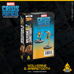 Marvel Crisis Protocol: Wolverine & Sabertooth Character Pack
