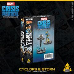 Marvel: Crisis Protocol - Storm & Cyclops (CP 41)
