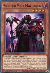 Skilled Red Magician - SBCB-EN009 - Common - 1st Edition