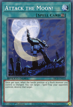 Attack the Moon! - SBCB-EN033 - Common - 1st Edition