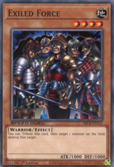 Exiled Force - SBCB-EN151 - Common - 1st Edition