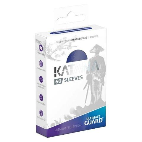 Ultimate Guard - Katana Japanese Size Card Sleeves (60ct) - Blue