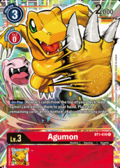 Agumon - BT1-010 - R - Alternative Art