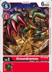 Groundramon -  BT1-020 - U