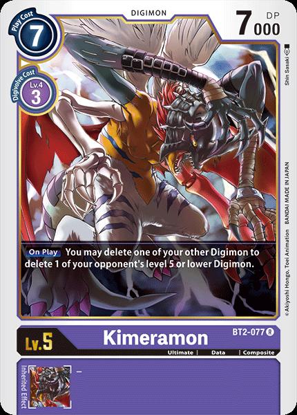 Kimeramon - BT2-077 - R