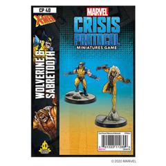 (DEPRECATED) Marvel: Crisis Protocol - Wolverine & Sabretooth Character Pack