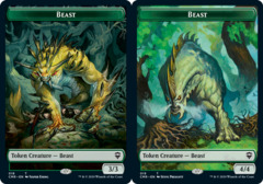 Beast Token (18) // Beast Token (19)