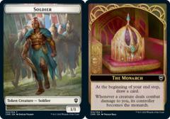 Soldier Token // The Monarch Token - Foil