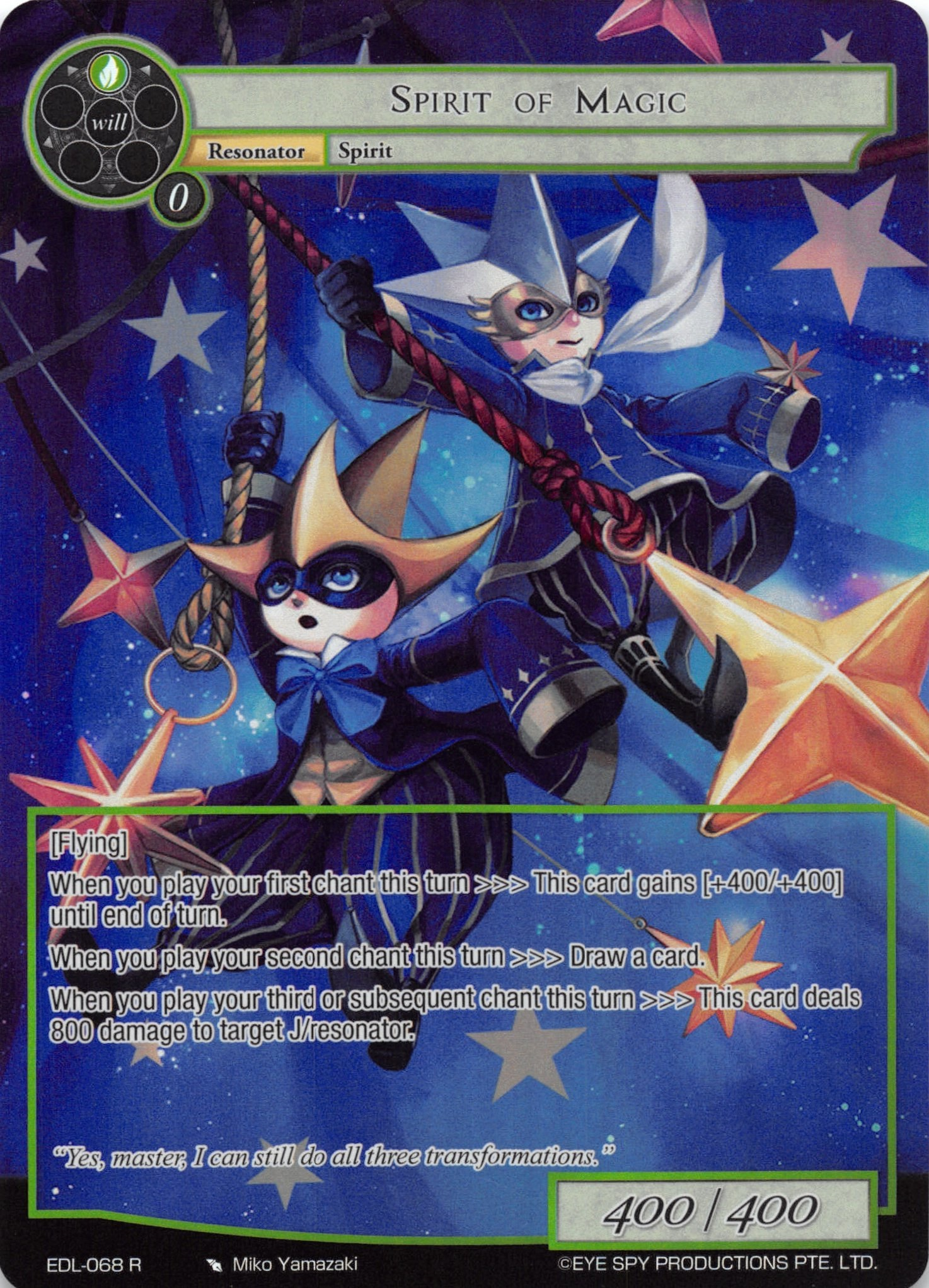 Spirit of Magic - EDL-068 - R - Full Art