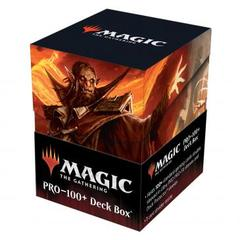 Ultra Pro - Strixhaven 100+ Deck Box for Magic: The Gathering - Plargg, Dean of Chaos & Augusta, Dean of Order