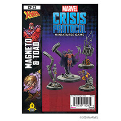 (DEPRECATED) Marvel: Crisis Protocol - Magneto & Toad Character Pack