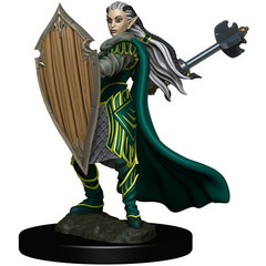 D&D Premium Painted Figure: W4 Female Elf Paladin