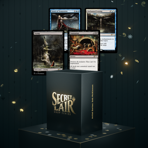 Secret Lair Artist Series Seb McKinnon
